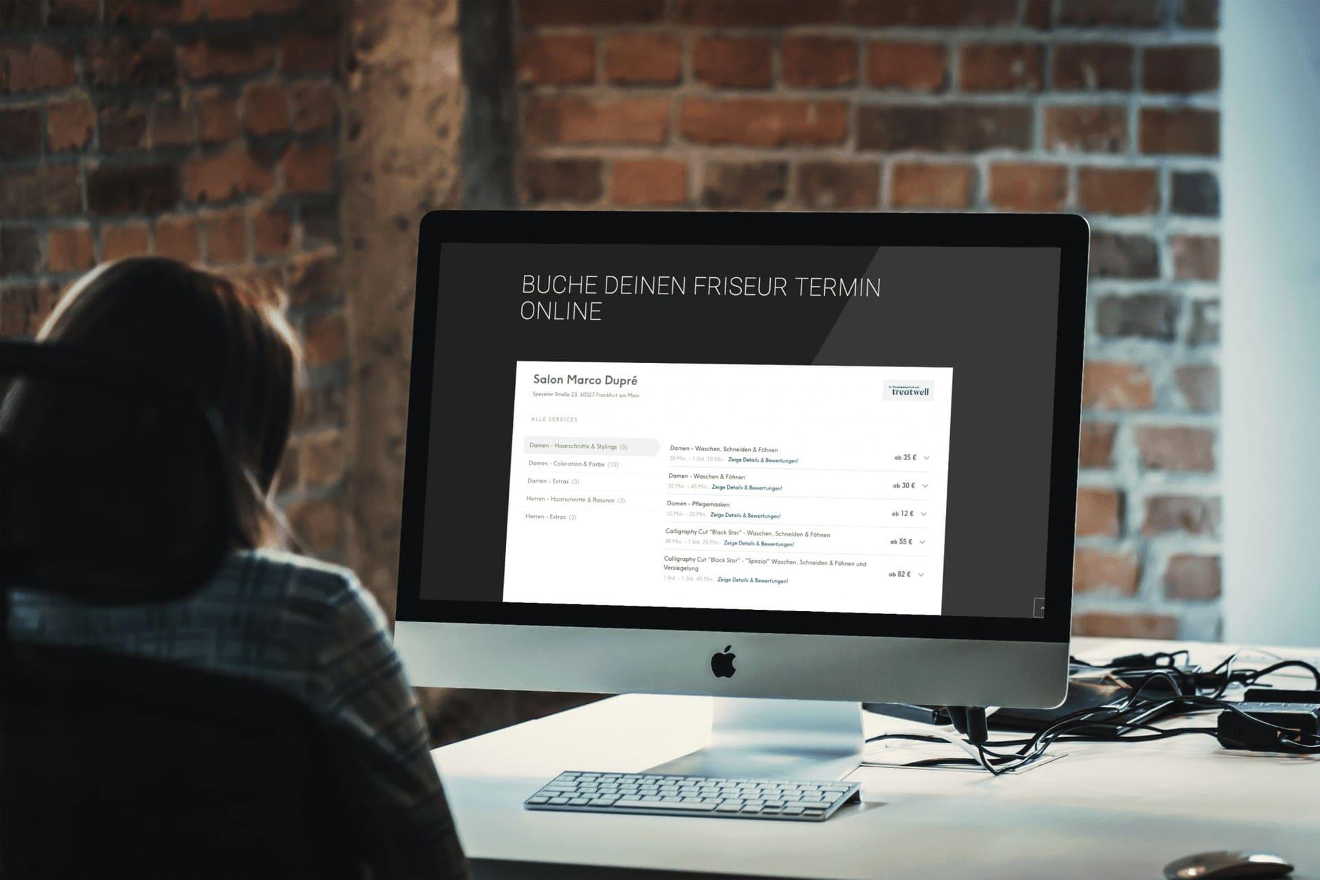 webdesign für friseure formwandler interactive